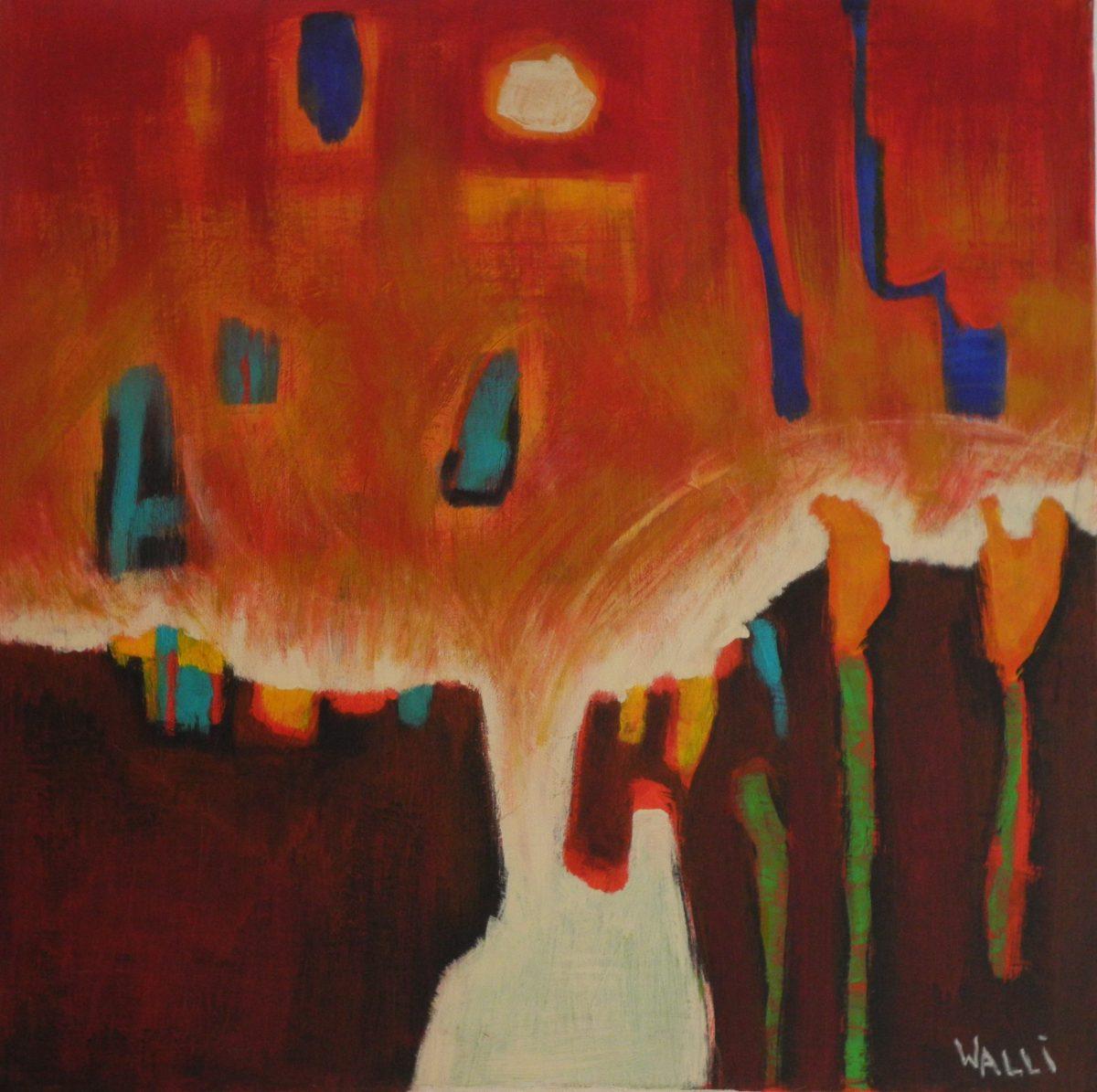 Kunstwerk von Walli Fellner